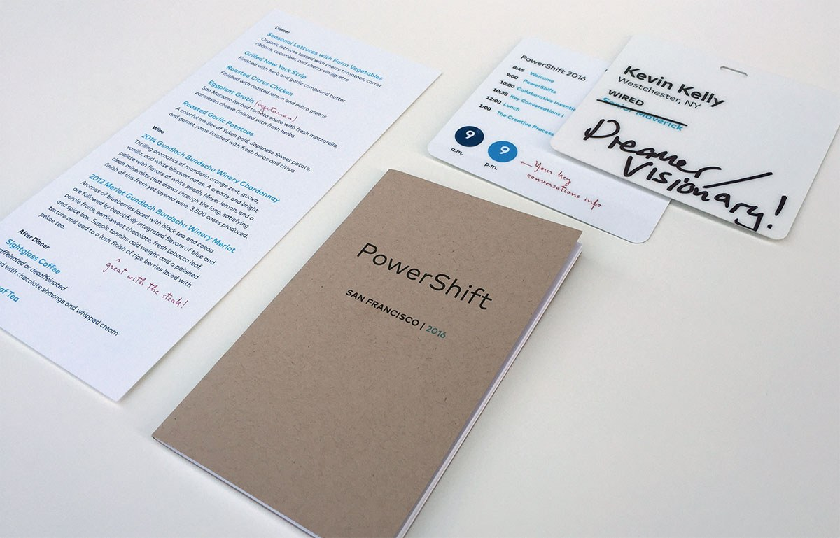 Powershift Graphic Identity