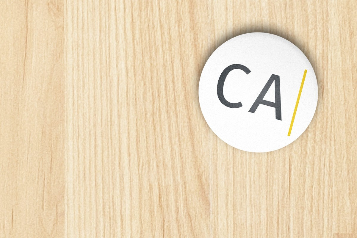 Cameron For California Apparel Button